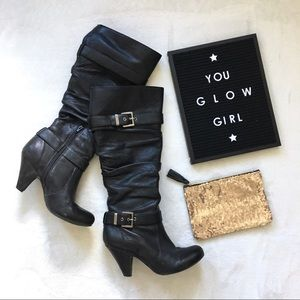 black heeled boots {jessica simpson}
